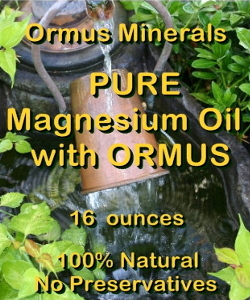 Ormus Minerals -Pure Magnesium Oil with Prill Water and Ormus