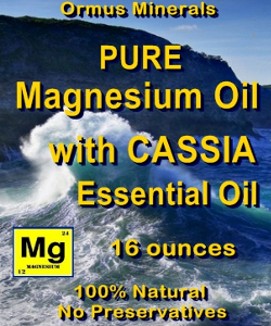 Ormus Minerals PURE MG OIL with Cassia Essential Oil