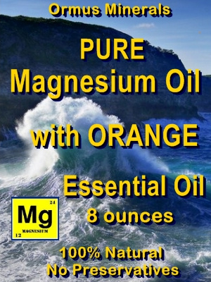 Ormus Minerals -Pure Magnesium Oil with Orange E O