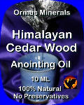 Ormus Minerals Himalayan Cedar Wood Anointing Oil
