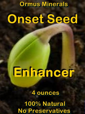 Ormus Minerals -Onset SEED Enhancer