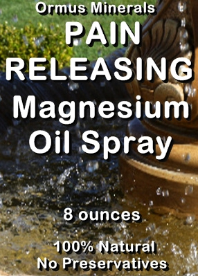 Ormus Minerals Pain Releasing Magnesium Oil (Spray)